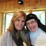 With Mother Dolores Hart at her 50th Jubilee